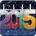 2015 New Year Live Wallpaper icon