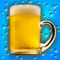 Cool Glass Bubbly Beer icon
