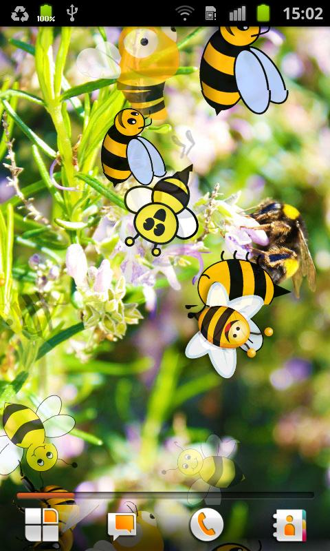 Bee Live Wallpaper - screenshot
