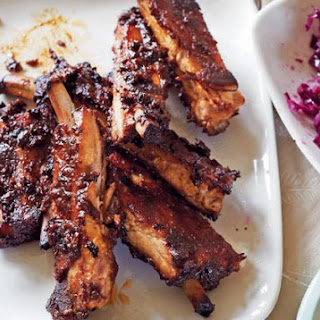 Sticky Pork Ribs.