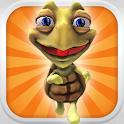 Turtle Power: 3D Runner Jogo icon