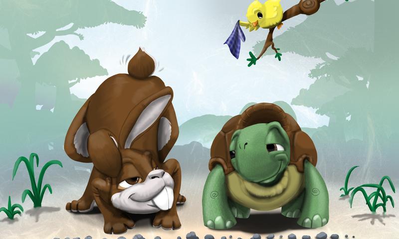 龟兔赛跑- screenshot