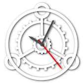 Mechanical Gears Watch Face