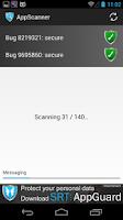 Screenshot of SRT AppScanner