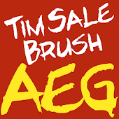 Tim Sale Brush FlipFont icon