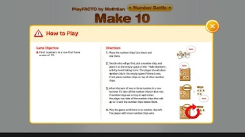 Screenshot of PlayFACTO(make10)