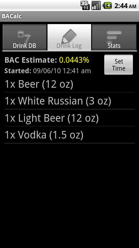 BACalc Pro- screenshot