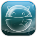 Bubble Droid Game logo
