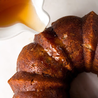 Apple Bourbon Bundt Cake