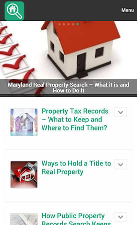Property Search Tips 1.0 screenshot 10073