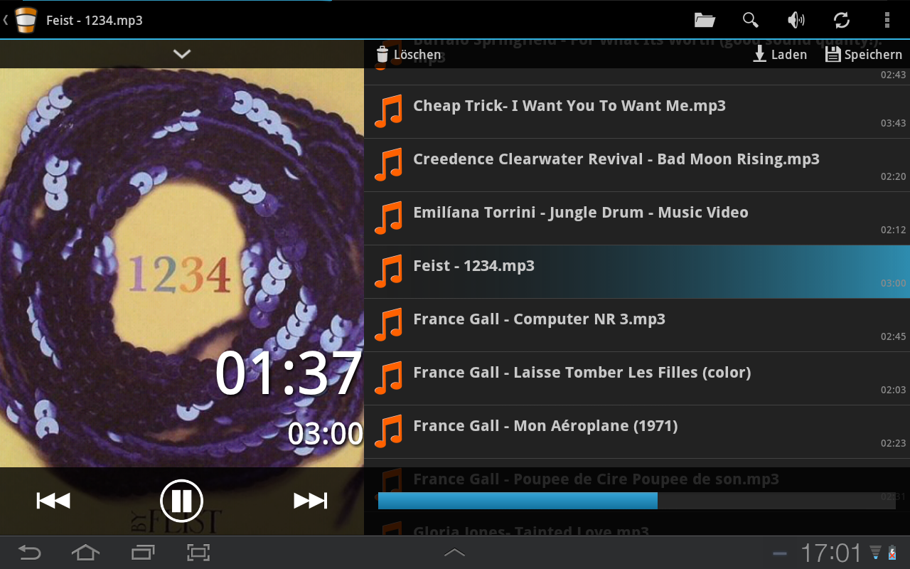 VLC Super Duper Remote LITE - screenshot