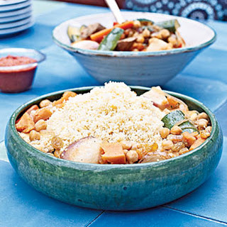 Couscous with Harvest Vegetables.