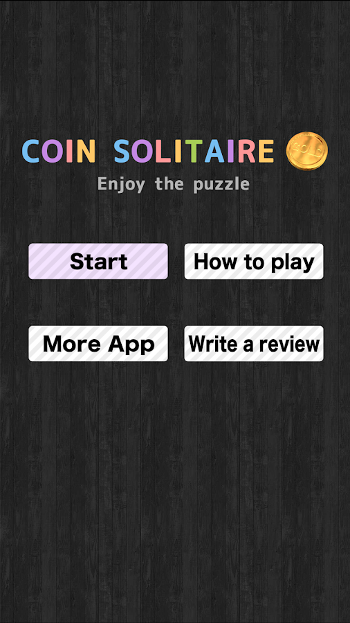 Coin Solitaire- screenshot
