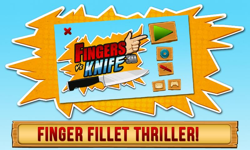 Fingers Vs Knife 3D - screenshot