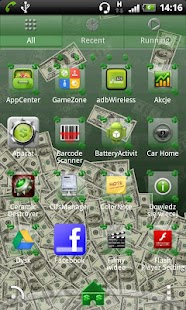 Dollar Theme for GO Launcher- screenshot thumbnail