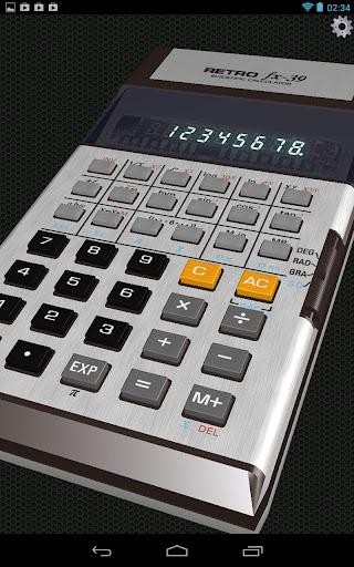 3D Calculator RetroFX