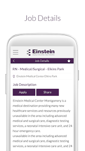 Einstein Health Network Jobs- screenshot thumbnail