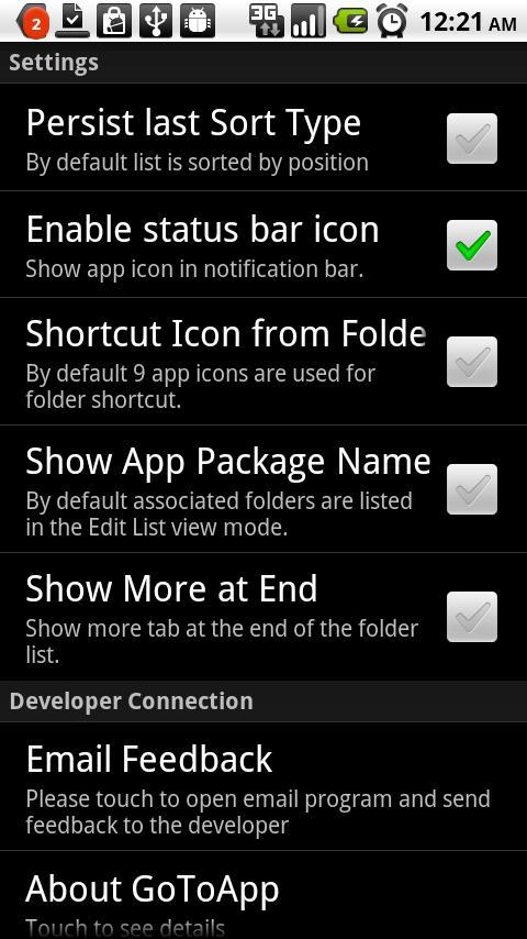 GoToApp App Organizer - screenshot