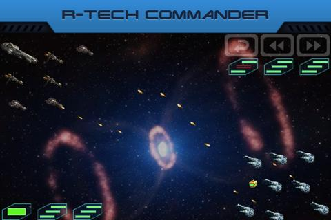 R-Tech Commander: Galaxy- screenshot