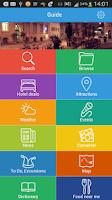 Screenshot of Lima Tourist Guide Map Hotels