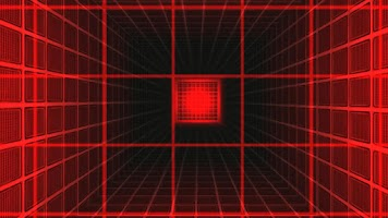 Screenshot of 3D Laser Grid Colors - lwp