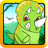Baby Dino T-Rex Caveman Escape
