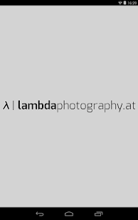 Lambda Photography- screenshot thumbnail