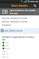 Screenshot of SAP System Monitoring