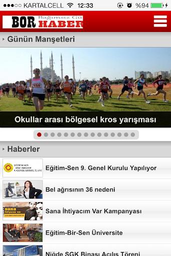 【免費新聞App】Bor Haber-APP點子