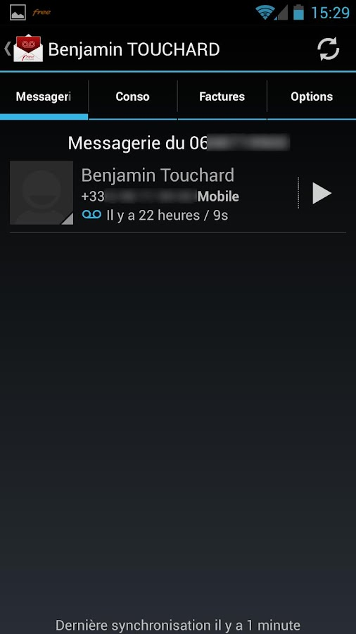 kFreeMobile- screenshot