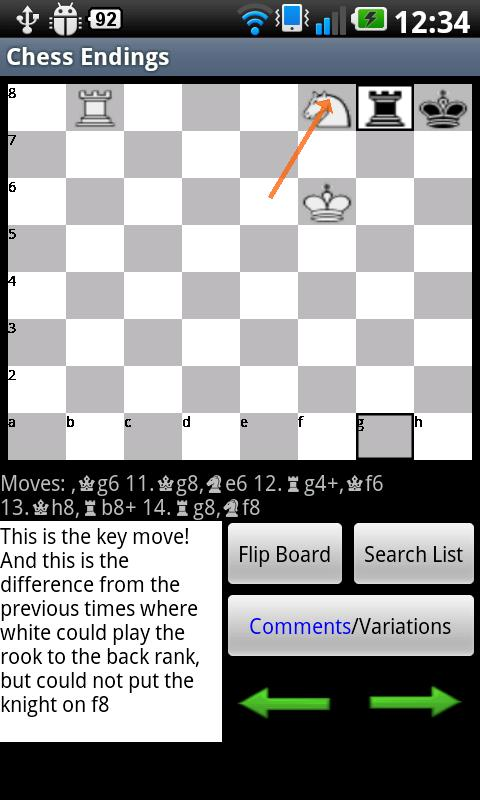 Chess Endings- screenshot