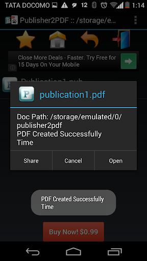 【免費商業App】Publisher to PDF Converter-APP點子