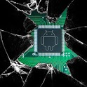 Broken glass lite wallpaper icon