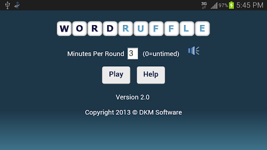 Word Ruffle Free - screenshot thumbnail