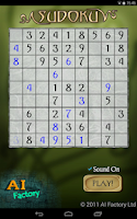 Screenshot of Sudoku Free