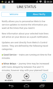 metroNotify- screenshot thumbnail