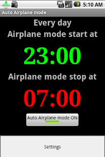 Auto Airplane Mode- screenshot thumbnail