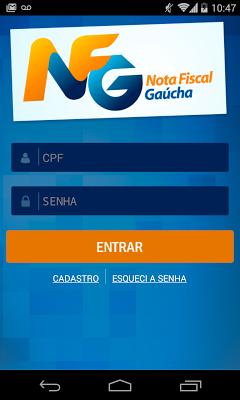 Nota Fiscal Gaúcha-NFG Oficial - screenshot