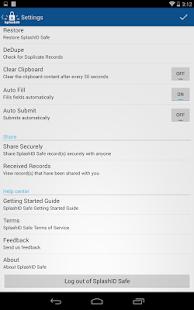 SplashID Safe Password Manager - screenshot thumbnail
