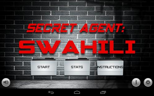 Secret Agent: Swahili
