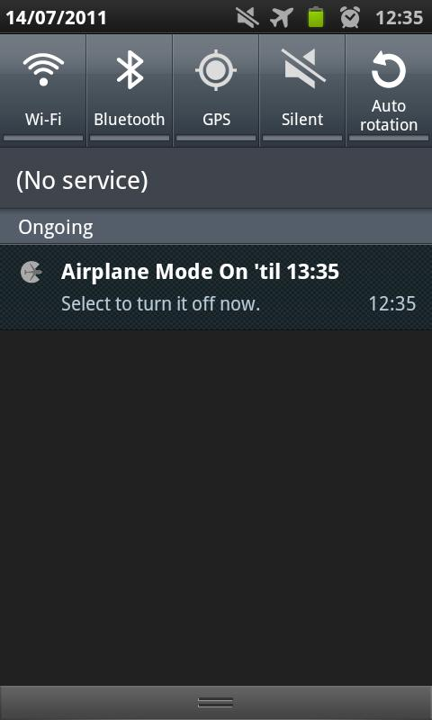 airplane mode timed android apps on play