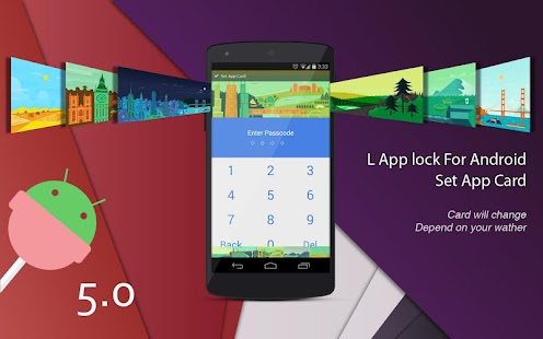 L Applock For Android- screenshot thumbnail
