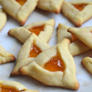 Easy Apricot Hamentaschen.