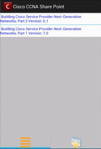 Cisco CCNA Share Point
