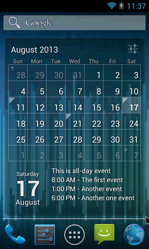 Календарь с 1998 по 2003