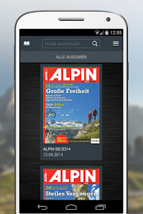 ALPIN eMagazine- screenshot thumbnail