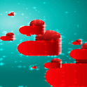 Red Hearts Live Wallpaper icon