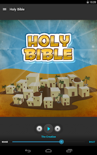 Holy Bible - Audio Book Ed. - screenshot thumbnail