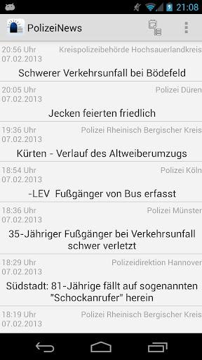 PolizeiNews Free