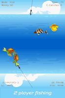 Screenshot of 2 Player Fishing